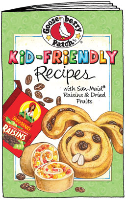 free cookbook gooseberry patch fall favorite with sun maid raisins dried fruit - Kid Free Books