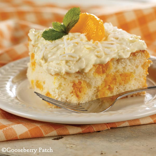 Gooseberry Patch Recipes: Mandarin Orange Cake from 101 Homestyle ...