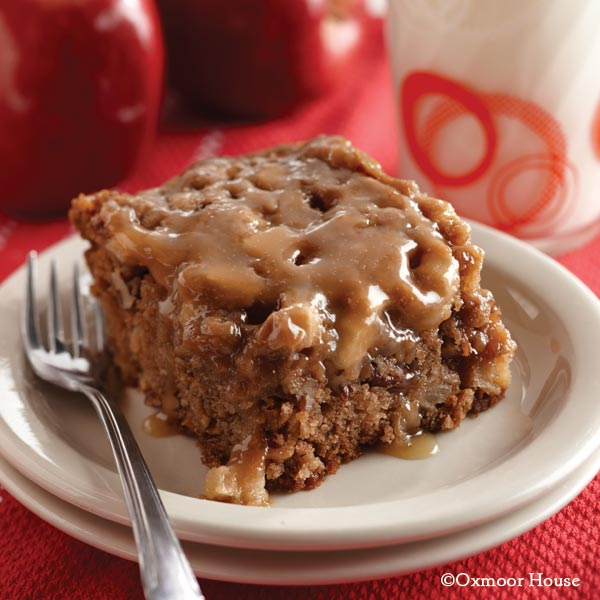 Gooseberry Patch Recipes: Caramel-Glazed Apple Cake from Blue Ribbon ...