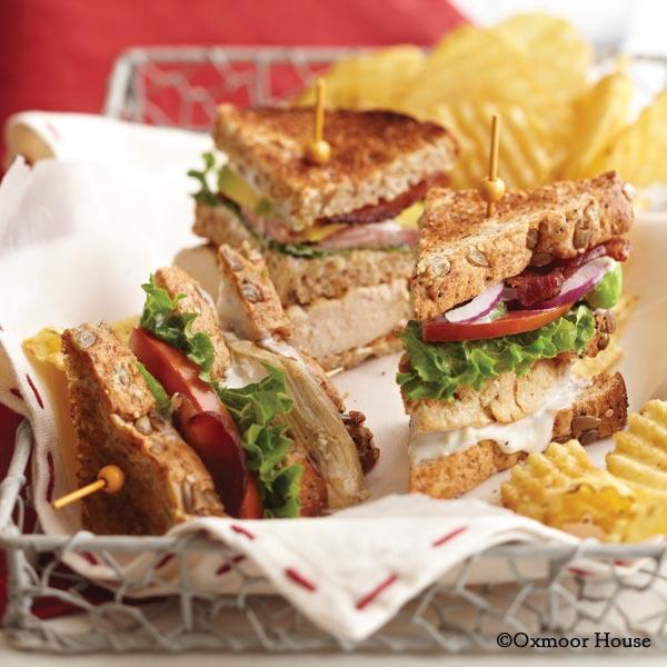 Cobb Sandwiches