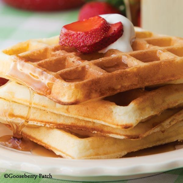 ... Patch Recipes: Crispy Cornbread Waffles from Farmhouse Kitchen