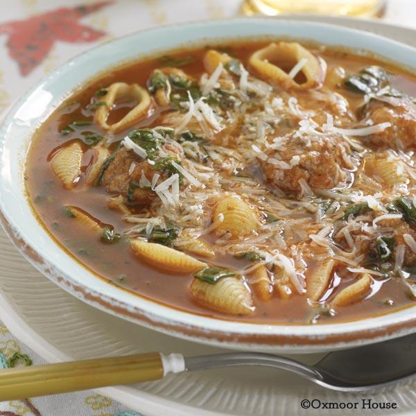 Easy Italian Wedding Soup: Gooseberry Patch Recipes: Easy Italian Wedding Soup From