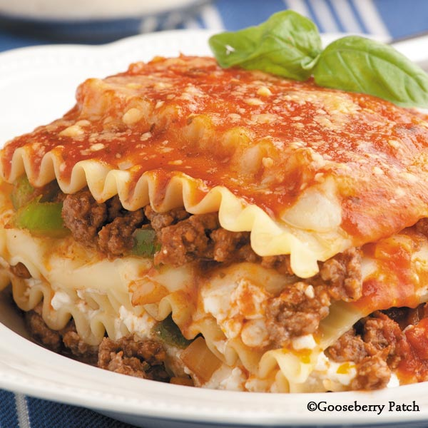 Classic Lasagna Recipe Video by GooseberryPatch iFoodtv