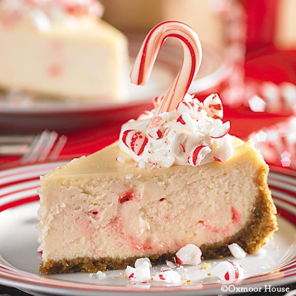 Gooseberry Patch Recipes: Peppermint Candy Cheesecake From