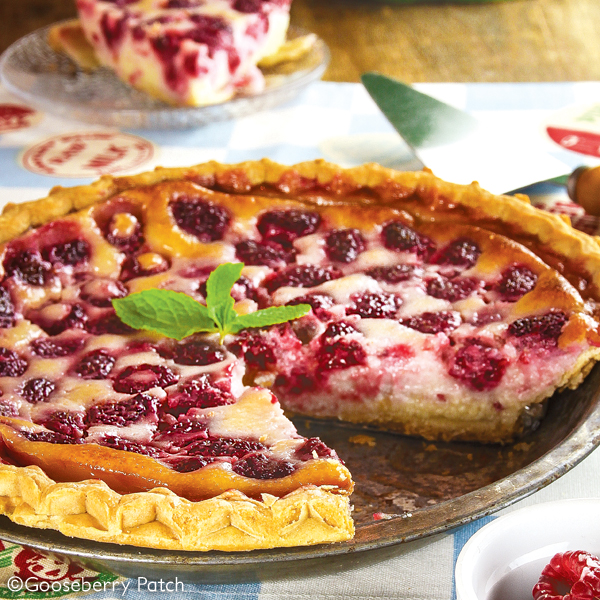 Gooseberry Patch Recipes: Raspberry Custard Pie from 101 Blue-Ribbon ...