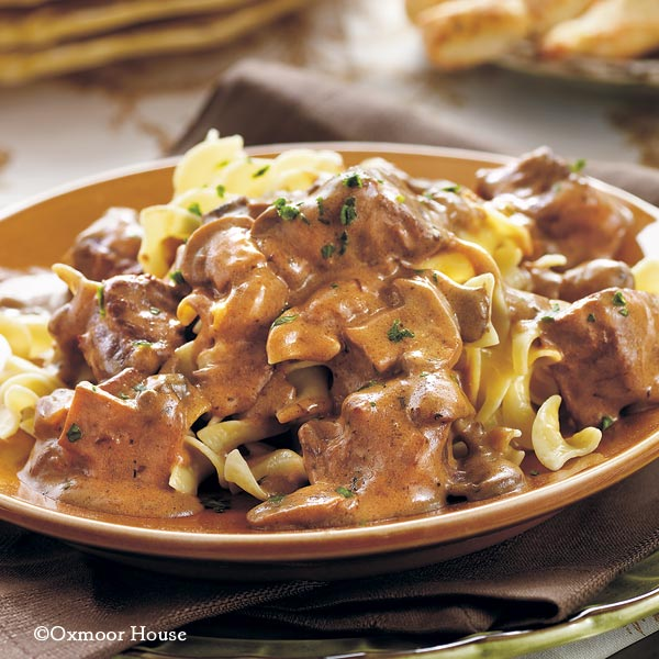 Gooseberry Patch Recipes: Slow-Cooker Beef Stroganoff from Our Best ...