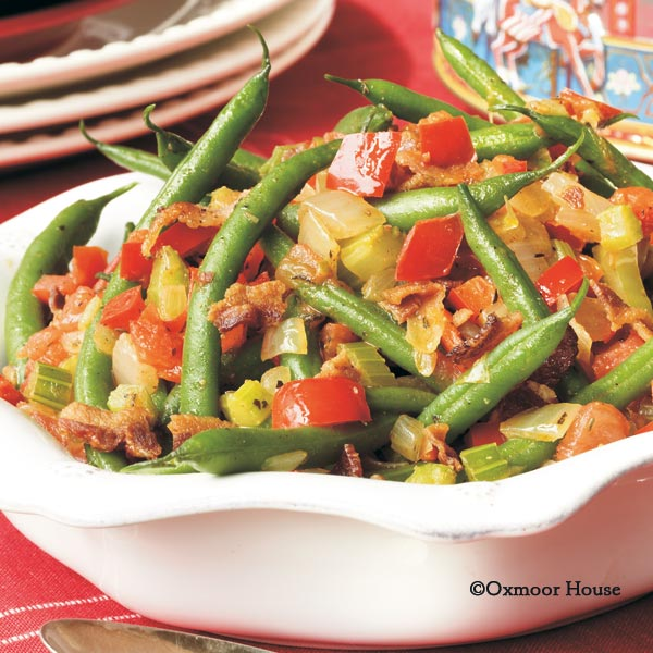 Gooseberry Patch Recipes: Smothered Green Beans from Have Yourself a ...
