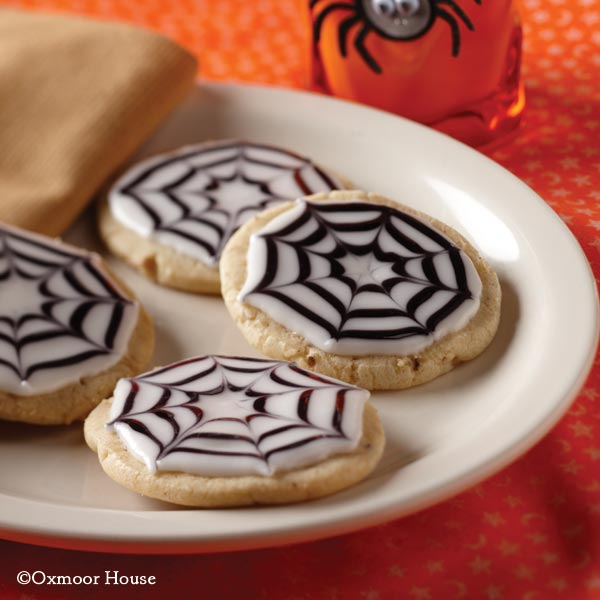 Gooseberry Patch Recipes Spooky Spiderweb Cookies From A Ghastly