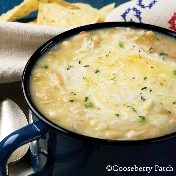 Gooseberry Patch Recipes: White Chicken Chili from 101 ...