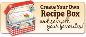 Create your Own Recipe Box